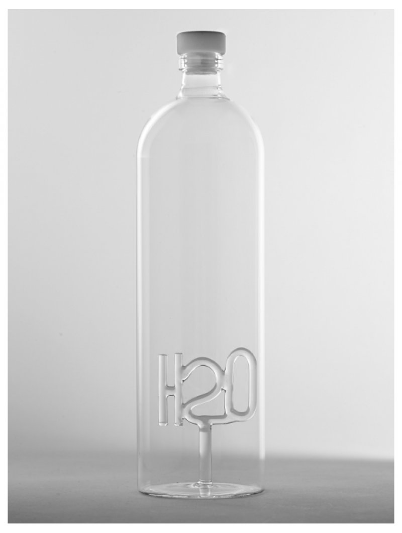 BOTTLE WITH STOPPER h20 D9 H32 1500ml